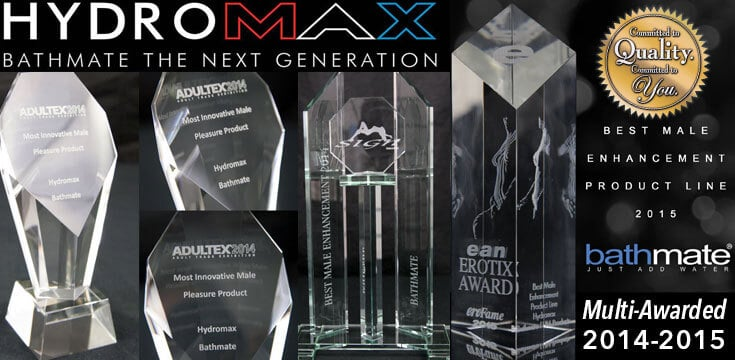 Bathmate Hydromax Awards